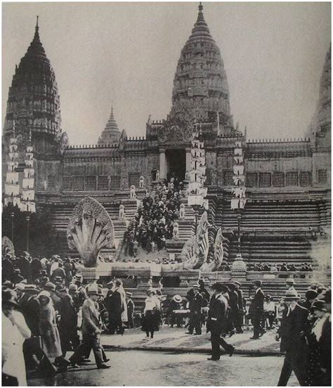 Angkor Wat replica in the 1931 Exposition Coloniale