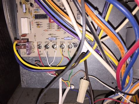 wiring - Why does adding a C wire for a thermostat blow