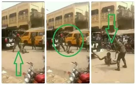 SOLDIERS THAT BEAT UP A CRIPPLE IN ONITSHA HAVE BEEN