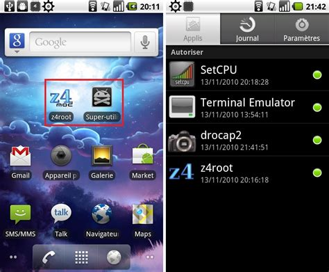 z4root ou comment rooter son androphone facilement