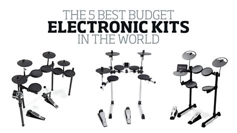 The 5 best budget electronic drum kits in the world today