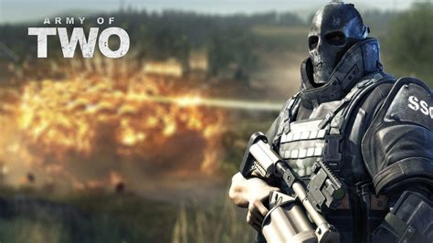 Army of Two Wallpaper in 1366x768