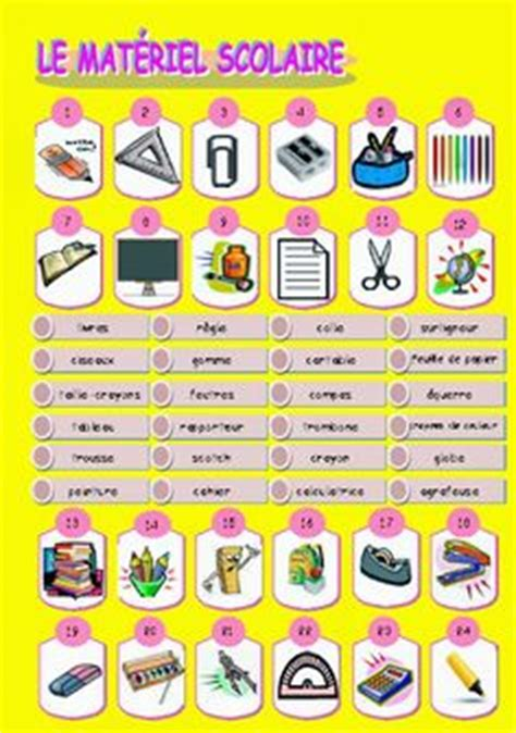 FLE vocabulaire on Pinterest   French Language, Learn