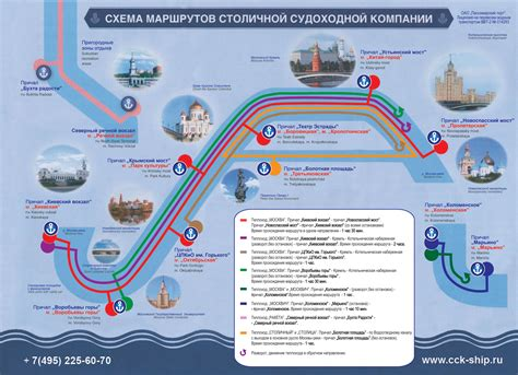Map of Moscow tourist attractions, sightseeing & tourist tour