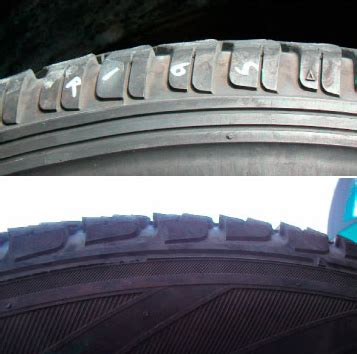Heel and toe wear | Tire Check-Up | Tire Care & Safety