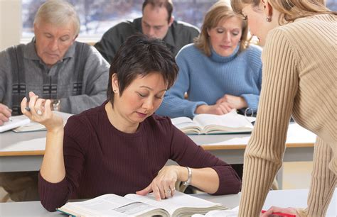 Colleges and Older Students