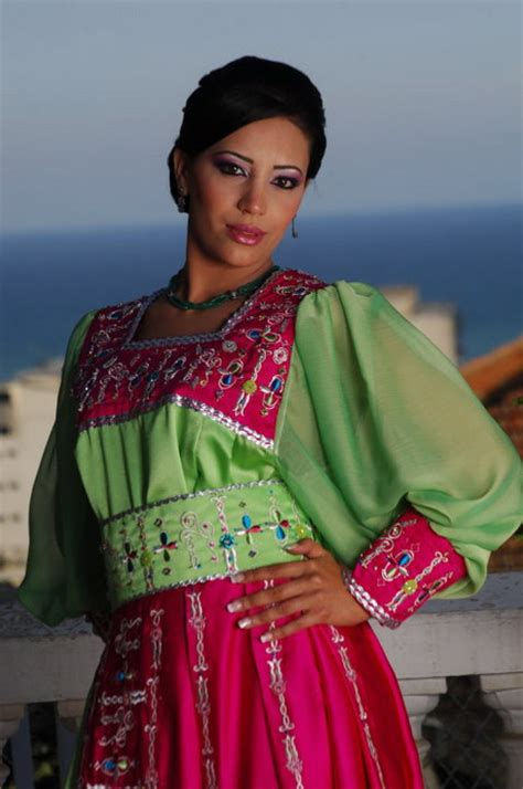 Les robes traditionnelles kabyles